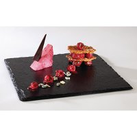 Melamine Slate Effect Display Platter GN 1/2