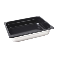 Vogue Stainless Steel Heavy Duty Non Stick Gastronorm Pan 1/2 40mm