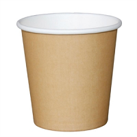 Disposable Espresso Cup Kraft 112ml 4oz by Fiesta