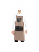 Giblor's Manchester Bib Apron Taupe