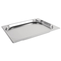 Stainless Steel Gastronorm Pan - 1/2 Size 20mm deep