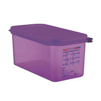 Araven Allergen Container GN - 1/3 6Ltr & Airtight Lid