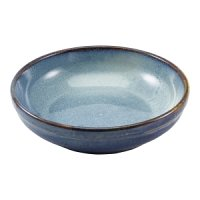 Terra Porcelain Aqua Blue Coupe Bowl 23cm