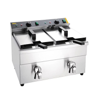 Buffalo  Double Induction Fryer -2 x  3Kw