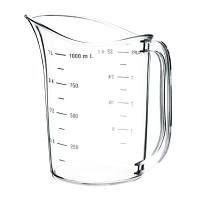 Vogue Polycarbonate Measuring Jug 1L