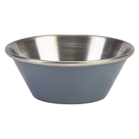 1.5oz Stainless Steel Ramekin Grey