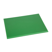 Hygiplas High Density Chopping Board Small Green - 229x305x12mm