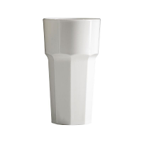 BBP Polycarbonate Tumbler 340ml White (36pc)