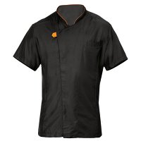 Giblor Giorgio Jacket Short Sleeve Black