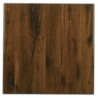 Werzalit Square 700mm Table Top (Antique Oak 316)