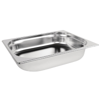 Stainless Steel Gastronorm Pan - 1/2 Size 65mm deep