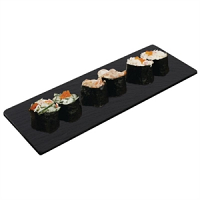 Olympia Smooth Edged Slate Platter 280x100mm