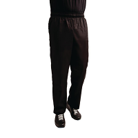 Whites Teflon Easyfit Trousers -Black