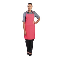 Colour by Chef Works Bib Apron Berry