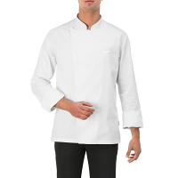Giblor Mirko Chef Jackets Long Sleeve White