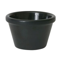 Ramekin 3oz Smooth Black