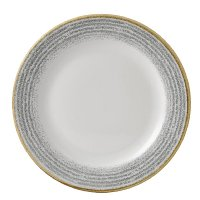 Churchill Studio Prints Homespun Plate Stone Grey 275mm
