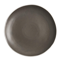 "Olympia Chia Charcoal Plate 270mm 10.6"" (Box 6)"