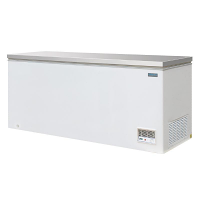 Polar Chest Freezer with Stainless Steel Lid 523Ltr
