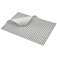 Greaseproof Paper Black Gingham Print 35 x 25cm