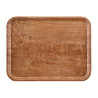 Cambro Wood Grain Tray Madeira 330 x 430mm Brown Olive