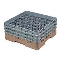 Cambro Camrack Beige 30 Compartments Max Glass Height 174mm
