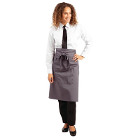 Charcoal Bistro Apron Regular - 700x1000mm