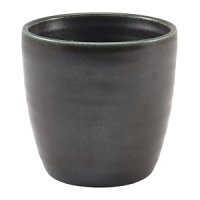 Terra Porcelain Cinder Black Chip Cup 32cl/11.25oz