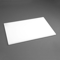 Hygiplas Anti-bacterial Low Density Chopping Board White - 450x300x12mm