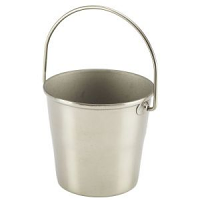 Stainless Steel Miniature Bucket 4.5cm Dia