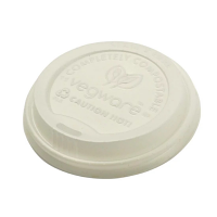 Vegware Hot Cup Lid - 8oz for GH020 (Box 1000)