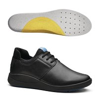 WearerTech Relieve Shoe Black with Soft Insoles