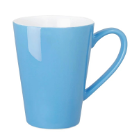 Olympia Cafe Latte Cup Blue - 340ml 12oz (Box 12)