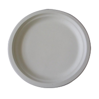 """Bio-Degradable Round Plate 10"""" (Pack 50)"""
