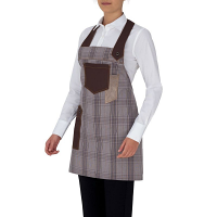 Giblor's Luna Bib Apron Light Brown