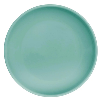 "Olympia Cafe Coupe Plate Aqua - 250mm 10"" (Box 6)"