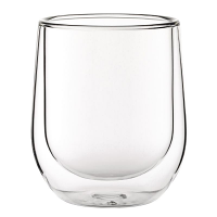 Double walled Latte Glass 270ml (12PC)