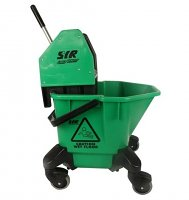 SYR Mop Bucket & Wringer Set Green