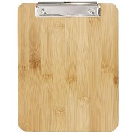 Olympia Bamboo Clipboard Menu Holder A4