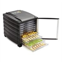 Food Dehydrator Buffalo 10 Tray with Timer & Door
