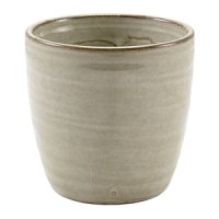 Terra Porcelain Grey Chip Cup 32cl/11.25oz