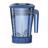 Waring  1.4L Blue Stacking MX jar with Lid for CB135