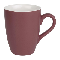 Olympia Matt Pastel Mug Red 320ml