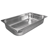Stainless Steel Perforated Gastronorm Pan - 1/1 Size 100mm deep