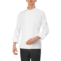 Giblor Andrea Chef Jacket Long Sleeve White