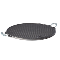 Garcima SL Cast Iron Round Griddle Pan 520mm