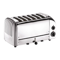 Dualit Stainless Plus 6 Slot Toaster (M)