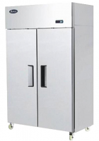 F-YBF9219GR Two Door Stainless Freezer