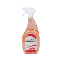 Jantex Multi Purpose Orange Based Citrus Cleaner and Degreaser 750ml (Pack of 6)