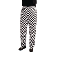 Whites Teflon Easyfit Trousers -Big Black Check